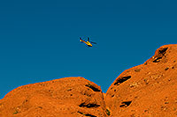 /images/133/2008-12-05-papago-heli-59922.jpg - #06379: Helicopter over Papago Park … December 2008 -- Papago Park, Phoenix, Arizona