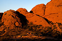 /images/133/2008-12-05-papago-shade-60153.jpg - #06339: Ramada by the Buttes of  Papago Park … December 2008 -- Papago Park, Phoenix, Arizona