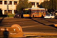/images/133/2008-12-10-tempe-kiwanis-school-61358.jpg - #06457: School bus and traffic at Kiwanis Park … December 2008 -- Kiwanis Park, Tempe, Arizona