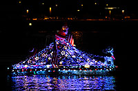 /images/133/2008-12-13-tempe-lights-boats-62613.jpg - #06412: APS Fantasy of Lights Boat Parade … December 2008 -- Tempe Town Lake, Tempe, Arizona