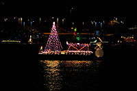 /images/133/2008-12-13-tempe-lights-boats-62645.jpg - #06413: APS Fantasy of Lights Boat Parade … December 2008 -- Tempe Town Lake, Tempe, Arizona