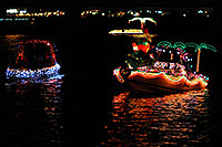 /images/133/2008-12-13-tempe-lights-boats-62740.jpg - #06423: Boat #32 - APS Fantasy of Lights Boat Parade … December 2008 -- Tempe Town Lake, Tempe, Arizona