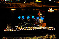 /images/133/2008-12-13-tempe-lights-boats-62853.jpg - #06476: Boat #28 - APS Fantasy of Lights Boat Parade … December 2008 -- Tempe Town Lake, Tempe, Arizona