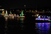 /images/133/2008-12-13-tempe-lights-boats-62880.jpg - #06479: Boat #25 - APS Fantasy of Lights Boat Parade … December 2008 -- Tempe Town Lake, Tempe, Arizona