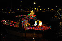 /images/133/2008-12-13-tempe-lights-boats-62910.jpg - #06483: Boat #12 - APS Fantasy of Lights Boat Parade … December 2008 -- Tempe Town Lake, Tempe, Arizona