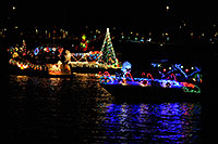 /images/133/2008-12-13-tempe-lights-boats-62923.jpg - #06484: Boat #25 - APS Fantasy of Lights Boat Parade … December 2008 -- Tempe Town Lake, Tempe, Arizona