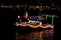 /images/133/2008-12-13-tempe-lights-boats-63357.jpg - #06492: Boat #32 - APS Fantasy of Lights Boat Parade … December 2008 -- Tempe Town Lake, Tempe, Arizona