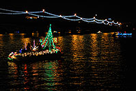 /images/133/2008-12-13-tempe-lights-boats-63841.jpg - #06447: APS Fantasy of Lights Boat Parade … December 2008 -- Tempe Town Lake, Tempe, Arizona