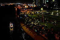 /images/133/2008-12-13-tempe-lights-people-63719.jpg - #06503: Spectators at APS Fantasy of Lights Boat Parade … December 2008 -- Tempe Town Lake, Tempe, Arizona