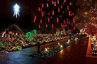 /images/133/2008-12-15-mesa-temple-hut-64234.jpg - #06524: Mesa Temple Garden Christmas Lights Display … December 2008 -- Mesa Arizona Temple, Mesa, Arizona