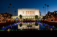 /images/133/2008-12-20-mesa-temple-65389.jpg - #06551: Mesa Temple Garden Christmas Lights Display … December 2008 -- Mesa Arizona Temple, Mesa, Arizona