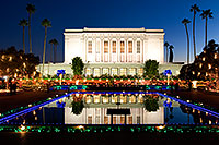 /images/133/2008-12-20-mesa-temple-65406.jpg - #06552: Mesa Temple Garden Christmas Lights Display … December 2008 -- Mesa Arizona Temple, Mesa, Arizona
