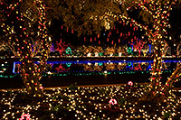 /images/133/2008-12-20-mesa-temple-morning-64991.jpg - #06553: Christmas Lights by Mesa Arizona Temple … December 2008 -- Mesa Arizona Temple, Mesa, Arizona