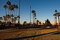 /images/133/2008-12-21-mesa-pioneer-65529.jpg - #06558: Morning at Main St in Mesa … December 2008 -- Pioneer Park, Mesa, Arizona