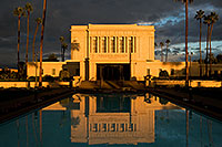 /images/133/2008-12-25-mesa-temple-west-66859.jpg - #06608: Reflection from west side of Mesa Arizona Temple … December 2008 -- Mesa Arizona Temple, Mesa, Arizona