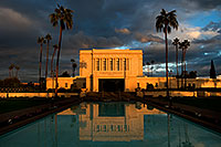 /images/133/2008-12-25-mesa-temple-west-66889.jpg - #06611: Reflection from west side of Mesa Arizona Temple … December 2008 -- Mesa Arizona Temple, Mesa, Arizona