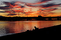 /images/133/2009-01-08-tempe-lake-sunset-74085.jpg - #06865: Tempe Town Lake … January 2009 -- Tempe Town Lake, Tempe, Arizona