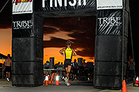 /images/133/2009-10-22-tempe-splash-run-117744.jpg - #07609: 00:40:42 Runner finishing the race - Splash and Dash Fall #3, Oct 22, 2009 at Tempe Town Lake … October 2009 -- Tempe Town Lake, Tempe, Arizona