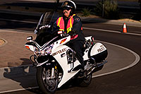 /images/133/2009-10-25-soma-police-119173.jpg - #07678: Police support at Soma Triathlon … October 25, 2009 -- Rio Salado Parkway, Tempe, Arizona