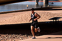 /images/133/2009-10-25-soma-run-119869.jpg - #07734: 03:36:41 Runner at Soma Triathlon … October 25, 2009 -- Tempe Town Lake, Tempe, Arizona
