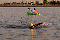 /images/133/2009-10-30-tempe-splash-swim-120349.jpg - #07815: 00:14:44 into the race - Splash and Dash Fall #4, October 30, 2009 at Tempe Town Lake … October 2009 -- Tempe Town Lake, Tempe, Arizona