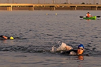 /images/133/2009-10-30-tempe-splash-swim-120376.jpg - #07818: 00:15:50 into the race - Splash and Dash Fall #4, October 30, 2009 at Tempe Town Lake … October 2009 -- Tempe Town Lake, Tempe, Arizona
