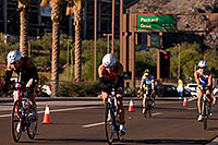 /images/133/2009-11-22-ironman-bike-pro-124210.jpg - #07952: 02:23:15 #14 and others cycling - Ironman Arizona 2009 … November 2009 -- Rio Salado Parkway, Tempe, Arizona