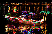 /images/133/2009-12-12-tempe-aps-lights-128142.jpg - #08023: Boat #21 at APS Fantasy of Lights Boat Parade … December 2009 -- Tempe Town Lake, Tempe, Arizona