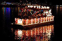 /images/133/2009-12-12-tempe-aps-lights-128228.jpg - #08024: Boat #41 at APS Fantasy of Lights Boat Parade … December 2009 -- Tempe Town Lake, Tempe, Arizona
