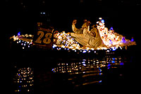 /images/133/2009-12-12-tempe-aps-lights-128304.jpg - #08028: Boat #28 at APS Fantasy of Lights Boat Parade … December 2009 -- Tempe Town Lake, Tempe, Arizona