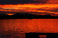 /images/133/2010-01-08-tempe-lake-sunset-131658.jpg - #08103: Sunset at Tempe Town Lake … January 2010 -- Tempe Town Lake, Tempe, Arizona