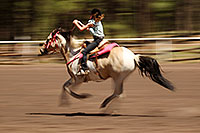 /images/133/2010-06-05-naha-horses-speed-2082.jpg - #08161: NAHA Pole Bending event in Flagstaff … June 2010 -- Fort Tuthill County Park, Flagstaff, Arizona