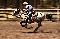 /images/133/2010-06-05-naha-horses-speed-2503.jpg - #08111: NAHA Turn and Burn event in Flagstaff … June 2010 -- Fort Tuthill County Park, Flagstaff, Arizona
