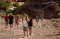 /images/133/2010-06-19-havasu-people-6117.jpg - #08192: Along Havasupai Trail … June 2010 -- Havasupai Trail, Havasu Falls, Arizona