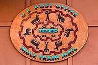 /images/133/2010-06-21-havasu-mail-7465.jpg - #08224: U.S. Post Office, Mule Train Mail - Supai, AZ 86435 - Established 1896 … June 2010 -- Supai, Havasu Falls, Arizona