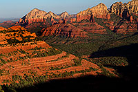 /images/133/2010-07-12-sedona-morning-16260.jpg - #08290: Morning in Sedona … July 2010 -- Schnebly Hill, Sedona, Arizona