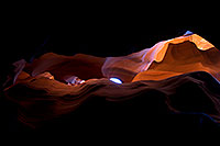 /images/133/2010-07-23-antelope-upper-18223.jpg - #08272: Image of Monument Valley in Upper Antelope Canyon … July 2010 -- Upper Antelope Canyon, Arizona