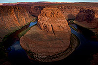 /images/133/2010-07-23-horseshoe-morn-17912.jpg - #08373: Horseshoe Bend of the Colorado River … July 2010 -- Horseshoe Bend, Arizona