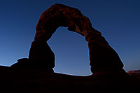 /images/133/2010-09-05-arches-delicate-dawn-30620.jpg - #08642: Delicate Arch before sunrise in Arches National Park … September 2010 -- Delicate Arch, Arches Park, Utah