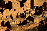 /images/133/2010-10-11-mesa-verde-palace-42327.jpg - #08899: People at Cliff Palace ruins at Mesa Verde … October 2010 -- Cliff Palace, Mesa Verde, Colorado