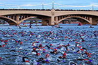 /images/133/2010-11-21-ironman-swim-43871.jpg - #09020: 00:04:19 - Starting the swim - Ironman Arizona 2010 … November 2010 -- Tempe Town Lake, Tempe, Arizona