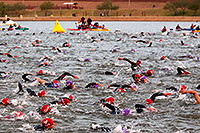 /images/133/2010-11-21-ironman-swim-43909.jpg - #09021: 00:05:25 - Starting the swim - Ironman Arizona 2010 … November 2010 -- Tempe Town Lake, Tempe, Arizona