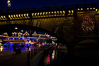 /images/133/2010-12-13-havasu-bridge-46754.jpg - #08977: Christmas at London Bridge in Lake Havasu City … December 2010 -- London Bridge, Lake Havasu City, Arizona