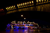 /images/133/2010-12-13-havasu-bridge-46772.jpg - #08980: Christmas at London Bridge in Lake Havasu City … December 2010 -- London Bridge, Lake Havasu City, Arizona