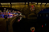 /images/133/2010-12-13-havasu-bridge-46785.jpg - #08982: Christmas at London Bridge in Lake Havasu City … December 2010 -- London Bridge, Lake Havasu City, Arizona