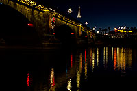 /images/133/2010-12-13-havasu-bridge-46798.jpg - #08984: Christmas at London Bridge in Lake Havasu City … December 2010 -- London Bridge, Lake Havasu City, Arizona