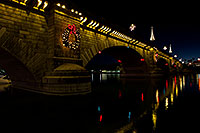 /images/133/2010-12-13-havasu-bridge-46799.jpg - #08985: Christmas at London Bridge in Lake Havasu City … December 2010 -- London Bridge, Lake Havasu City, Arizona