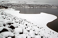 /images/133/2010-12-19-gunnison-lake-47055.jpg - #08993: Snow by Gunnison … December 2010 -- Gunnison, Colorado