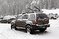 /images/133/2010-12-20-loveland-cars-47192.jpg - #08999: Snow by Loveland Pass … December 2010 -- Loveland Pass, Colorado