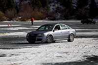 /images/133/2011-01-08-georgetown-ice-47339.jpg - #09095: Audi on ice covered Georgetown Lake … January 2011 -- Georgetown, Colorado